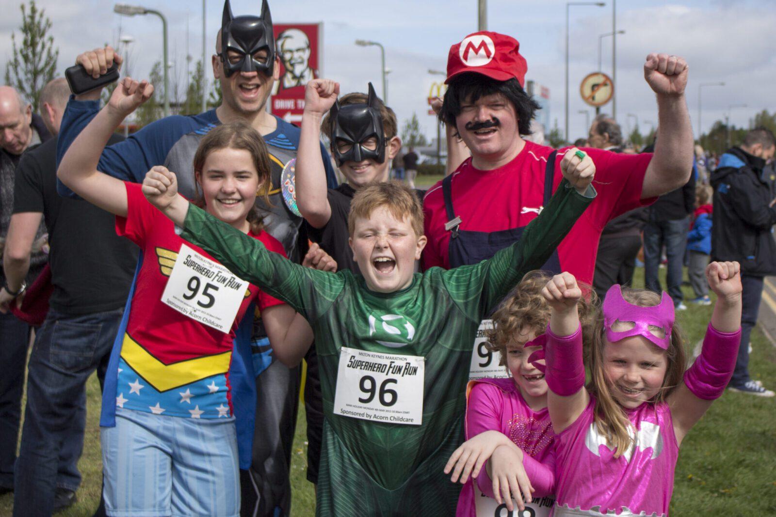 Mk Marathon Superhero Fun Run
