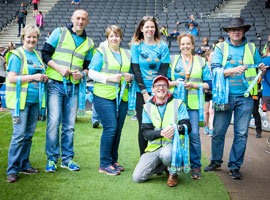 Volunteer to help at the MK Marathon