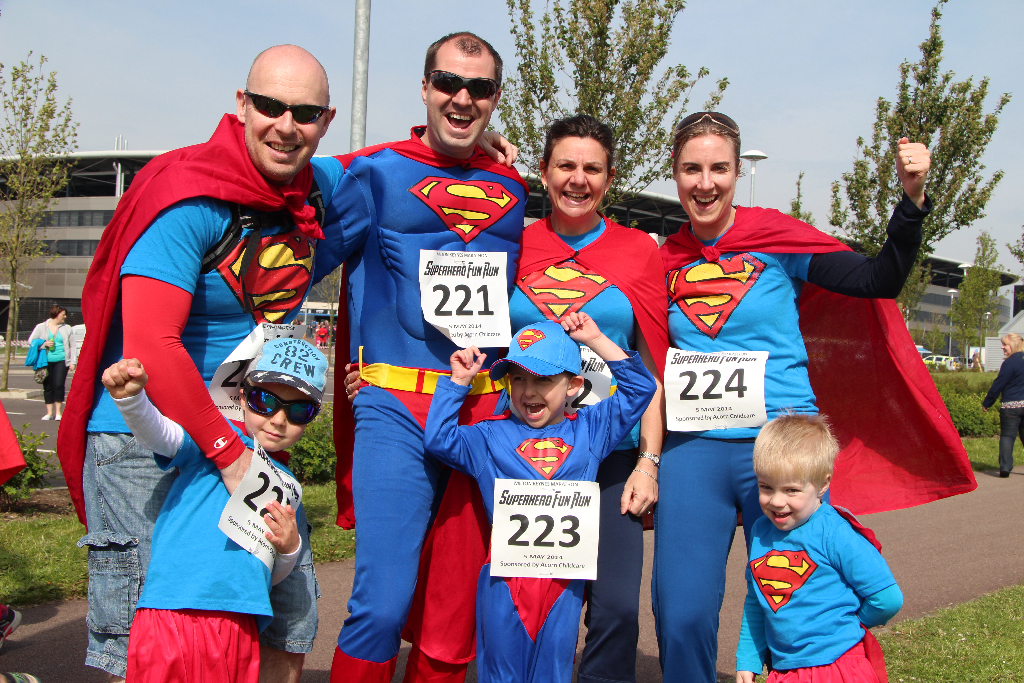 The MK Marathon Superhero Fun Run - amazing fun for the whole family, Milton Keynes 2