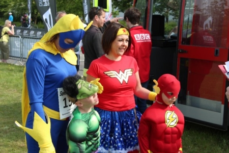 The MK Marathon Superhero Fun Run - amazing fun for the whole family, Milton Keynes 5