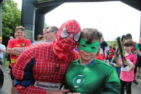 The MK Marathon Superhero Fun Run - amazing fun for the whole family, Milton Keynes 6