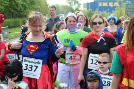 The MK Marathon Superhero Fun Run - amazing fun for the whole family, Milton Keynes 7