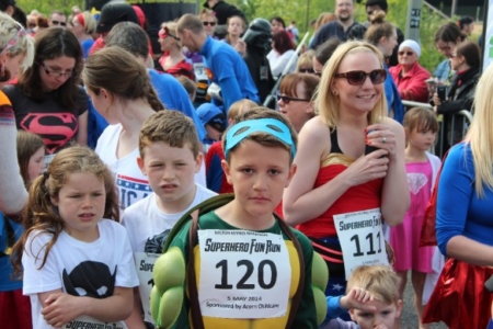 The MK Marathon Superhero Fun Run - amazing fun for the whole family, Milton Keynes 8