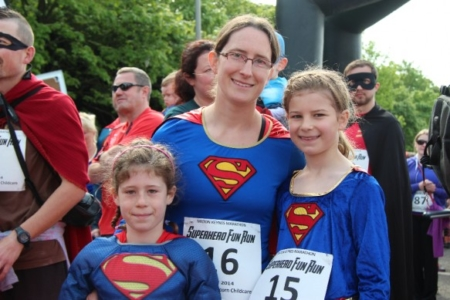 The MK Marathon Superhero Fun Run - amazing fun for the whole family, Milton Keynes 9