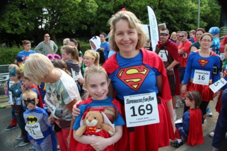 The MK Marathon Superhero Fun Run - amazing fun for the whole family, Milton Keynes 10