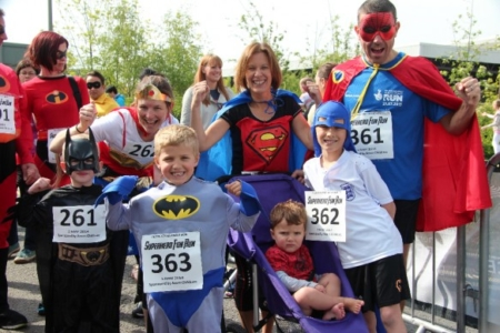 The MK Marathon Superhero Fun Run - amazing fun for the whole family, Milton Keynes 11