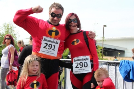The MK Marathon Superhero Fun Run - amazing fun for the whole family, Milton Keynes 1