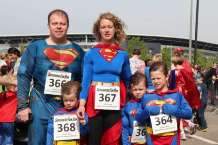 The MK Marathon Superhero Fun Run - amazing fun for the whole family, Milton Keynes 12