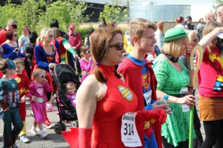 The MK Marathon Superhero Fun Run - amazing fun for the whole family, Milton Keynes 13