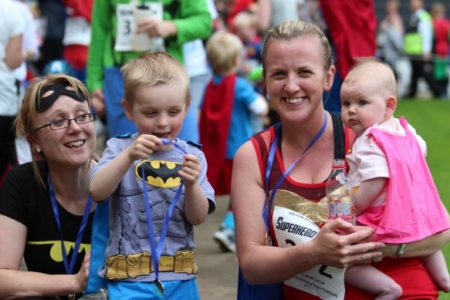 The MK Marathon Superhero Fun Run - amazing fun for the whole family, Milton Keynes 4
