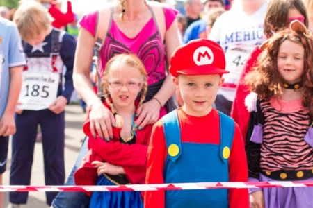 The MK Marathon Superhero Fun Run - amazing fun for the whole family, Milton Keynes 3