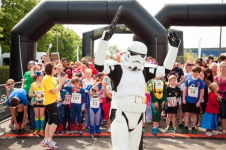 The MK Marathon Superhero Fun Run - amazing fun for the whole family, Milton Keynes 15