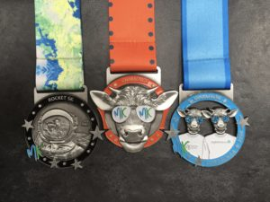 Run the MK Rocket 5k and MK Marathon and gain the MK Challenge Medal