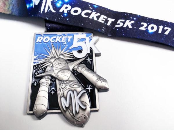 MK Rocket 5K Medal 2017