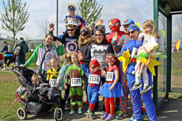Mk Marathon Superhero Fun Run
