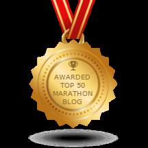 MK Marathon awarded Top 50 Marathon Blogs