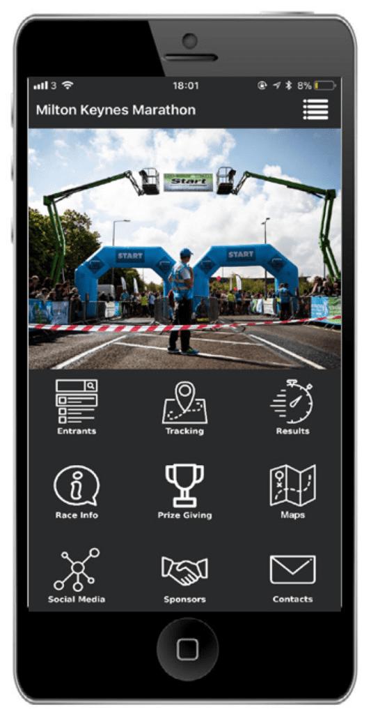 MK Marathon Weekend Smartphone App