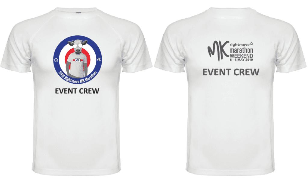 MK Marathon Weekend Event Crew Technical T-Shirt 2019
