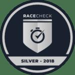 MK Rocket 5k wins the RaceCheck SILVER Award 2018