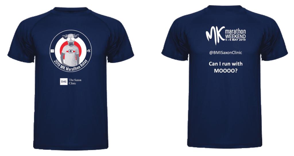 MK Marathon Relay finishers t-shirt 2019