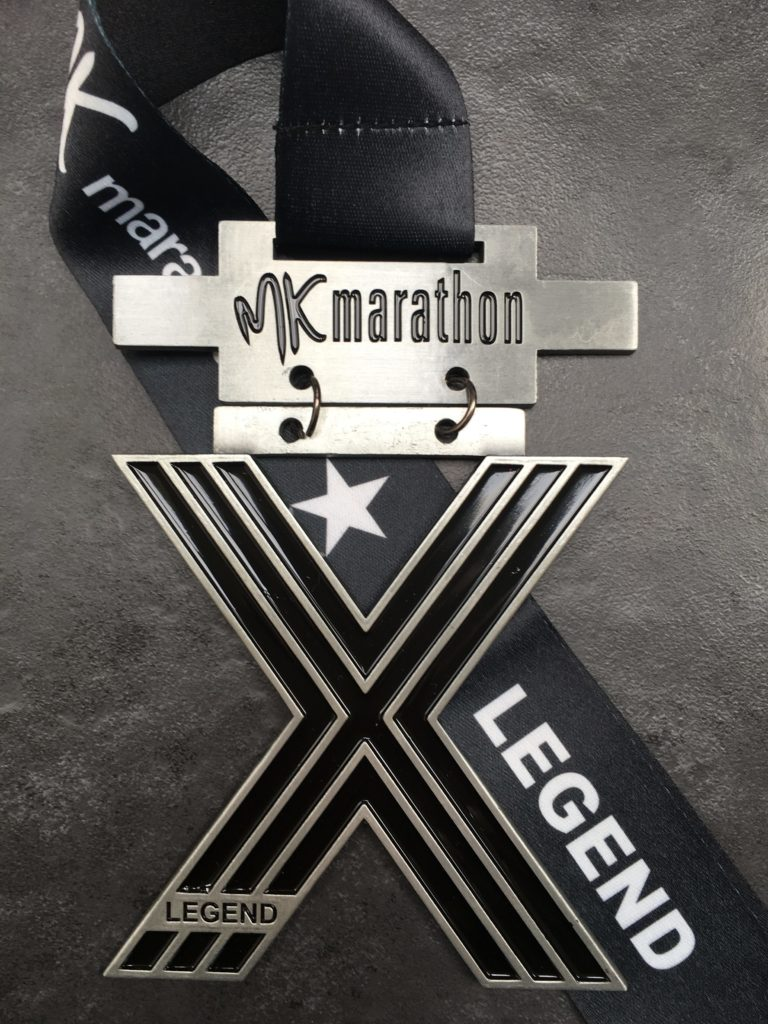 MK Marathon X Legend Medal