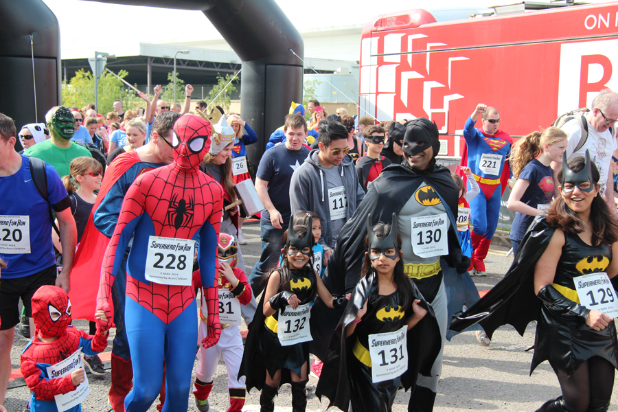 May the Fourth Be With You! The Milton Keynes Superhero Fun Run 2015