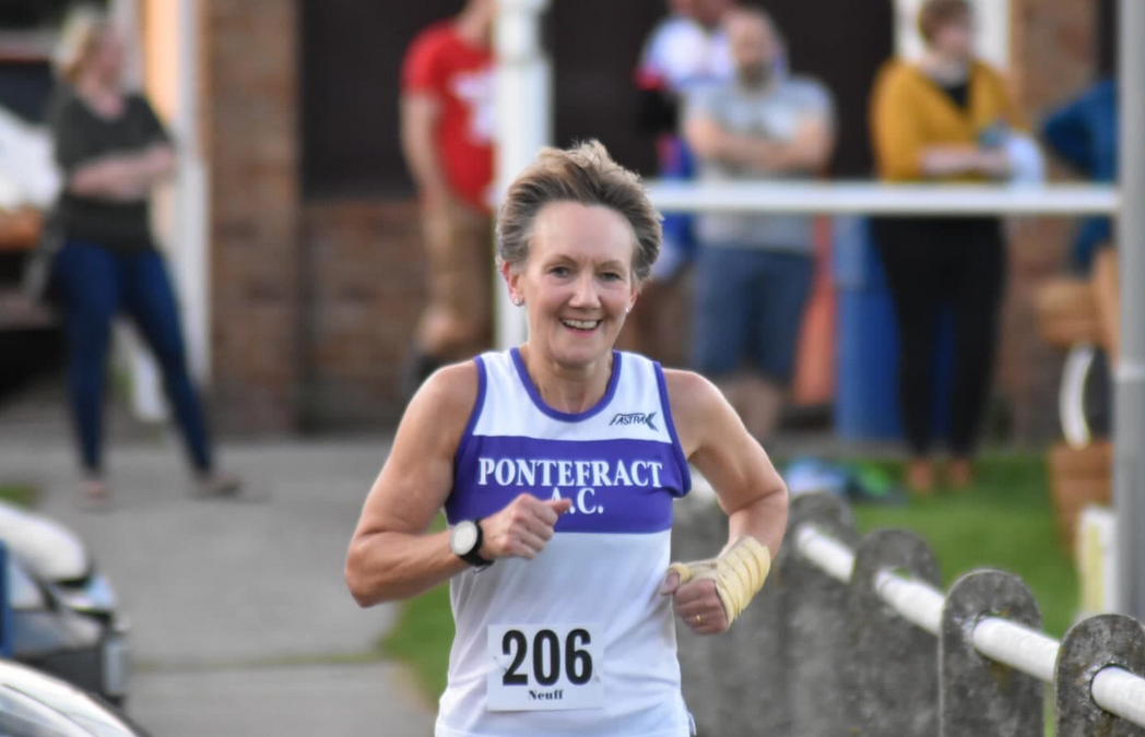 Christine McCarthy of Pontefract AC took part in the Rightmove MK Marathon Reimagined